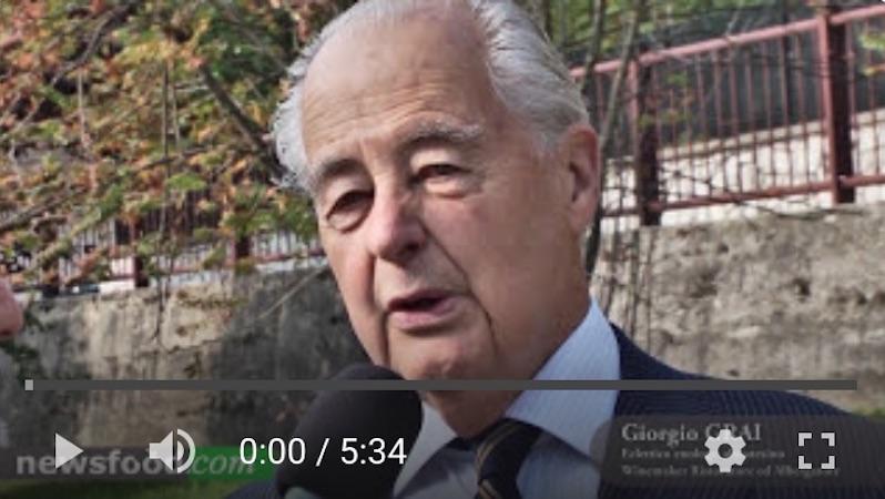 Intervista a Giorgio Grai, in giuria al Concorso Miglior Sommelier ASPI 2014 – Roncegno Terme 3-4-5 ottobre (Video)