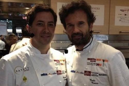 Michael Anthony e Carlo Cracco