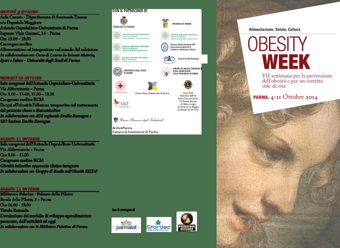 Parma, 4 – 11 ottobre: Settimana per la Prevenzione dell'Obesità