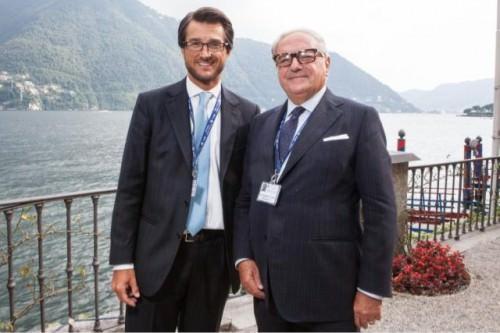 Stefano Simontacchi con Colombo Clerici