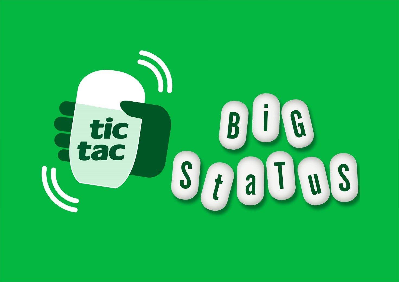 Tic Tac BIG STATUS: IL NUOVO CONTEST ONLINE IDEATO DA HUB09 BRAND PEOPLE