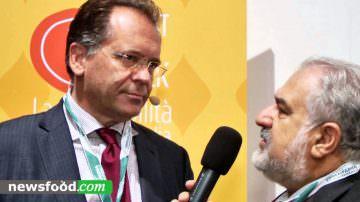 Alessandro Cecchi Paone e la Clessidra Ambientale all'incontro Meat for Talk la sostenibilità delle carni in Italia (Video)