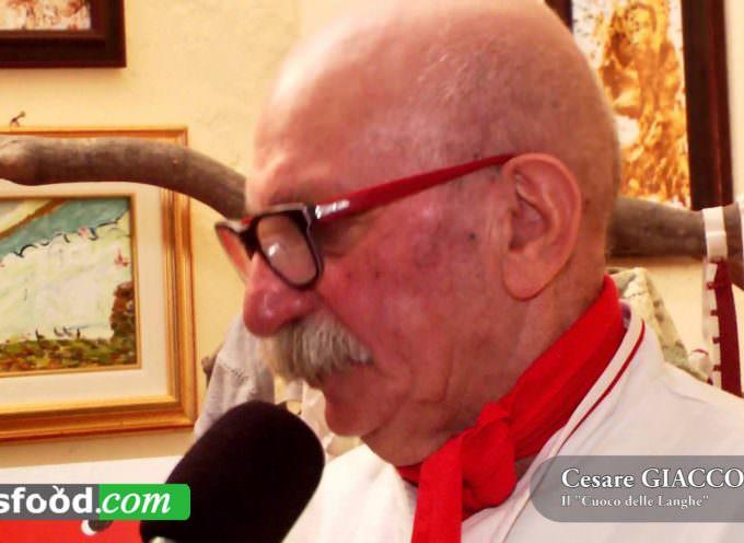 Cesare Giaccone cuoco naif delle Alte Langhe, artista in cucina e sulle tele