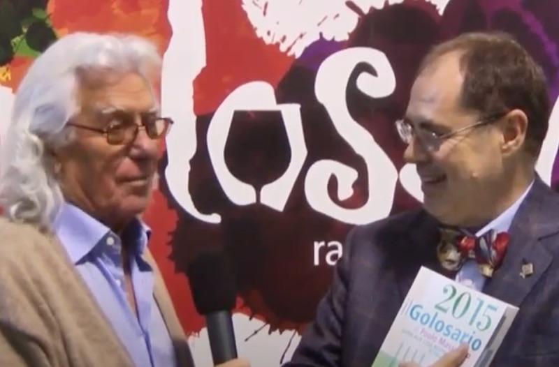 Golosaria 2014: Paolo Massobrio amarcord di Gino Veronelli con Cino Tortorella  (Video)