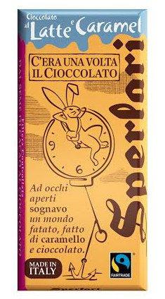Cioccolato al latte e caramel, Sperlari