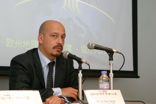 PIER MARIA SACCANI SEGRETARIO GENERALE AICIG