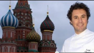 Luigi Ferraro, Chef Calabrese al Cafe Calvados di Mosca – Salone del Gusto 2014 (Video)