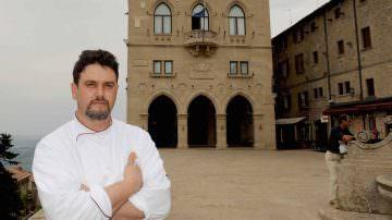 """Ristorante Righi e il suo """"Titanico"""" Chef Luigi Sartini premiati da Paolo Massobrio a Golosaria"""