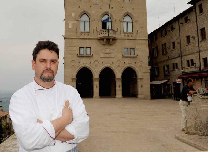 San Marino: cena 12 mani in onore di Gino Angelini, Titano degli Chef