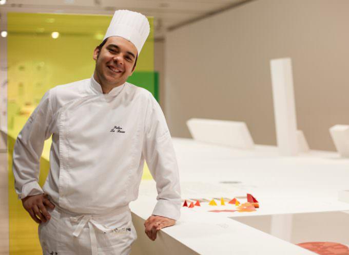 FELICE LO BASSO nuova Stella Michelin di Milano  guest chef all' Italian Cuisine World Summit di Dubai