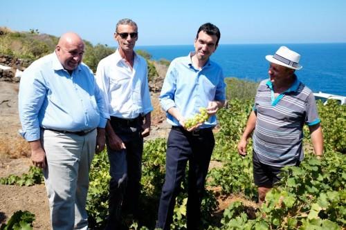 Ministro Martina a Pantelleria