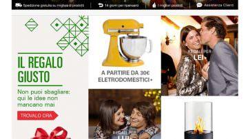 Regali di Natale: Il 44% degli italiani cercherà ispirazione dai negozi online