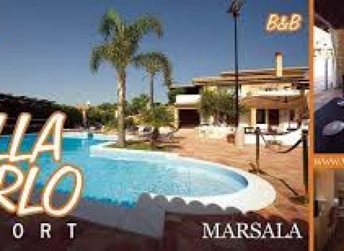 Villa Carlo Resort con vista sulle isole Egadi, vicina a Marsala e all'Aeroporto di Trapani-Birgi