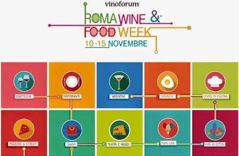 Roma Wine food week, il nuovo evento di Vinoforum che durerà una settimana intera