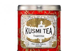 Tsarevna di Kusmi Tea, la nuova calda miscela natalizia, in edizione limitata