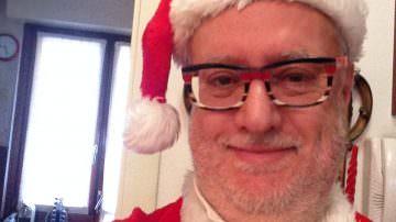 Babbo Natale esiste, parola di Edoardo Raspelli: venite a Lonato del Garda e lo incontrerete di persona