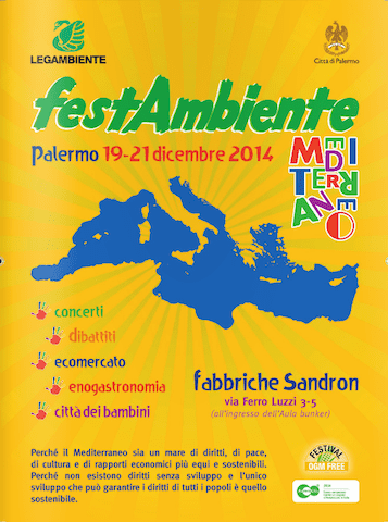 VIENERGY –  A FESTAMBIENTE MEDITERRANEO Palermo, 19 -21 dicembre 2014