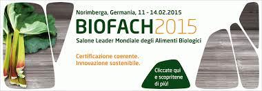 Biofach 2015 -Norimberga, 11-14 febbraio – Notizie utili per espositori e visitatori