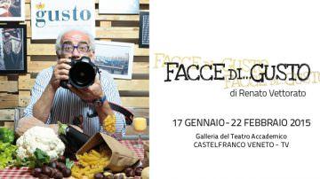 """""""Facce di… Gusto"""": L'arte visiva di Renato Vettorato in mostra presso la Galleria del Teatro Accademico di Castelfranco Veneto – TV"""