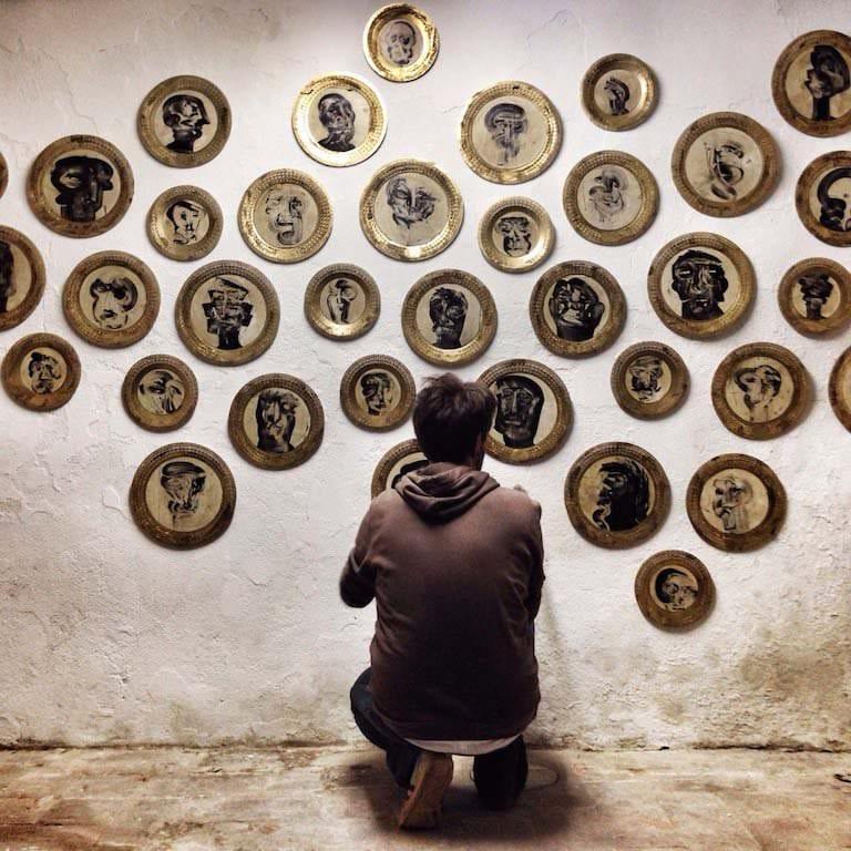 "Arte al Caffè Florian, la più famosa ""botega da cafè"", già ""Alla VeneziaTrionfante"""