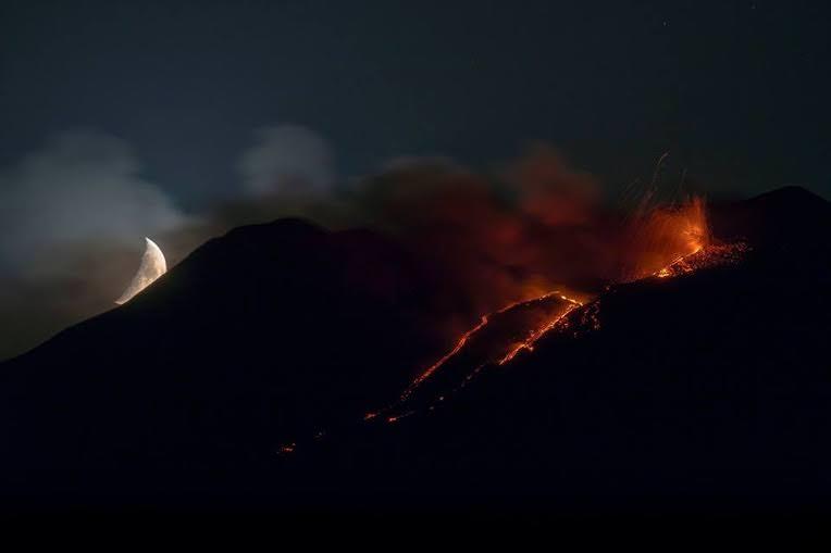 Lo scatto del fotografo Santo Principato pubblicata sul National Geographic