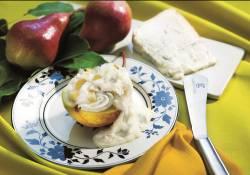 Semifreddo con pere e gorgonzola