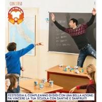 Sant'Anna e Gigi Buffon insieme per sostenere le scuole italiane