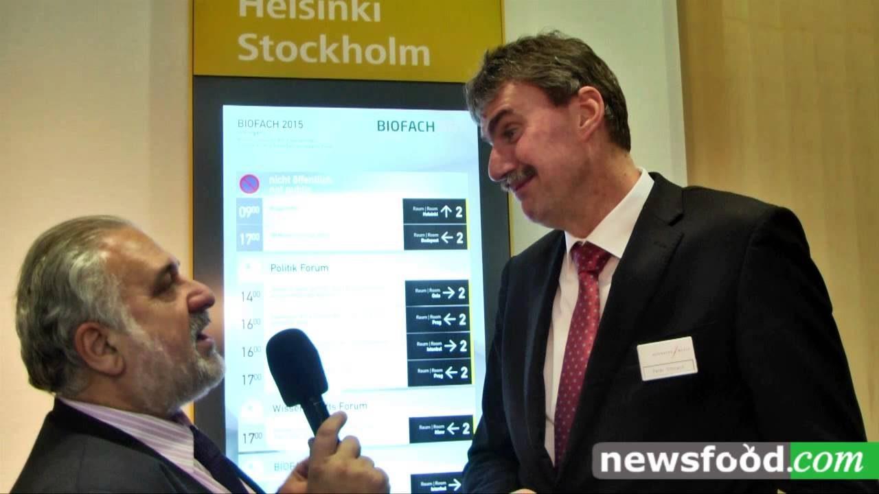 BioFach 2015: Peter Ottmann, Managing Director of NürnbergMesse (video)