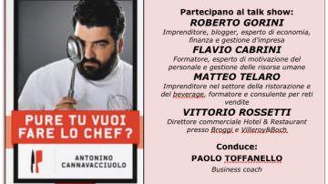 A scuola di ristorazione da Antonino Cannavacciuolo, lo chef di Cucine da incubo