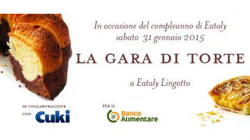 Gara di Torte promossa da Eataly: Cuki è partner tecnico e sponsor ufficiale