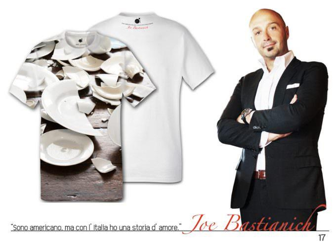 Identità Golose:  Bastianich e Marchi e la T-shirt  a sostegno di Mani Tese