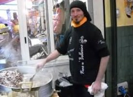 Nino U' Ballerino di Palermo vince il primo oscar italiano del cibo di strada