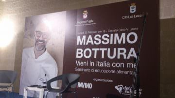 Massimo Bottura a Lecce: Vieni in Italia con me – Una lezione da Maestro