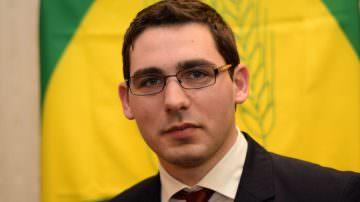 Alessandro Rota, 28 anni, è alla guida della Coldiretti di Milano Lodi e Monza Brianza