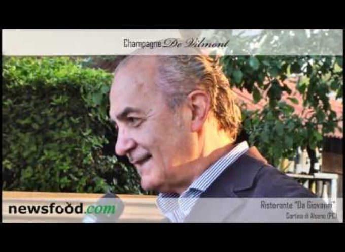Champagne De Vilmont, Ivano Ghedin intervistato da Cino Tortorella (Video)