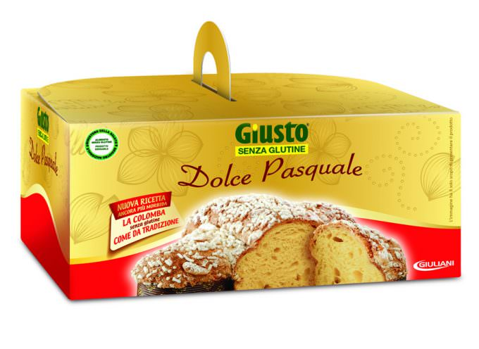 I prodotti pasquali Giusto Giuliani per chi soffre di diabete o celiachia