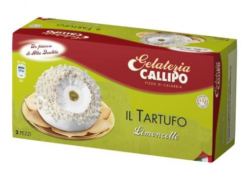 Gelateria Callipo, Tartufo al limoncello