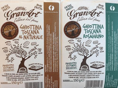 Ghiottina al naturale e al rosmarino Granart