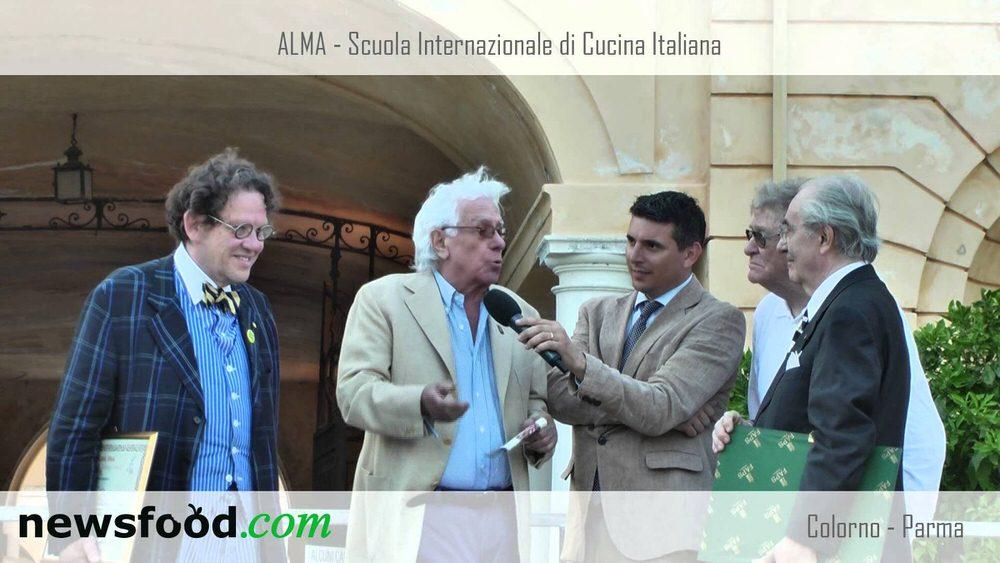 Gualtiero Marchesi, ALMA, VIVA 2013, premia: Ermanno Olmi, Philippe Daverio, Cino Tortorella (Video)