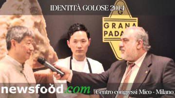Isamu Hirayama, Chef giapponese, nei suoi piatti usa abitualmente il Grana Padano