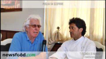 Locanda  Di Nunno, Canosa di Puglia, Antonio Di Nunno intervistato da Cino Tortorella (video)