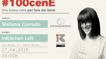 Cena a favore di Emergency con la chef Stefania Corrado