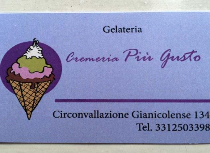 """Gelateria o cremeria? Apre a Roma """"Più Gusto"""""""