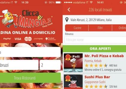 Cliccaemangia.it si può ordinare cibo online in pochi istanti, direttamente a casa o in ufficio, dai ristoranti di Milano, …