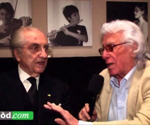 Compleanno di Gualtiero Marchesi  (Video con amici e intervista)