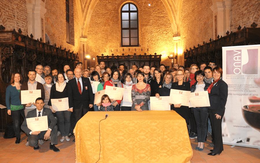 Consegnati i diplomi ai nuovi Assaggiatori Onav Asti