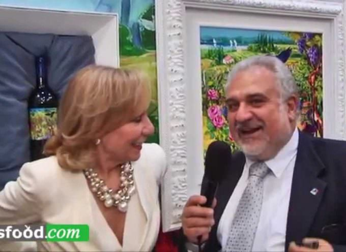 Marilisa Allegrini: Arte e Vino a Vinitaly con Bobo Cerea (Video)