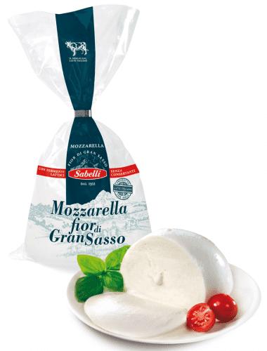 Mozzarella Fior di Gran Sasso - Sabelli spa