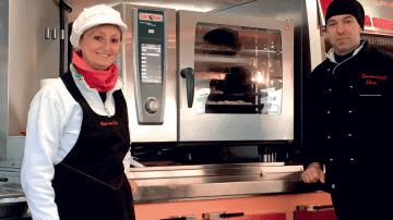 "Oscar Caiola: ""Un forno SelfCookingCenter nel mio furgone Rosticceria R. & O"""