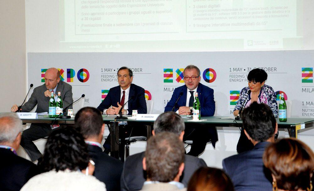 Giuseppe Sala e Roberto Maroni lanciano il concorso: Un'estate all'Expo